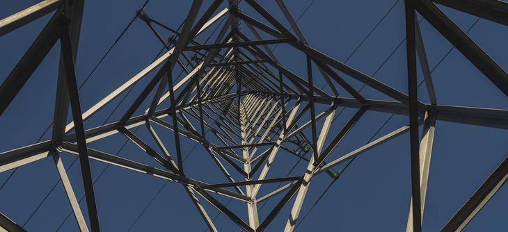 Bilde av høyspentmast